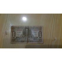 Billete De Un Boliviano Peso Ley 1928