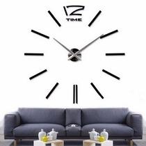 Reloj De Pared Minimalista En Color Negro Mas Modelos