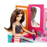 Barbie Hermanas Baño Vanidad Con Patrón