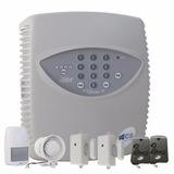 Alarme Residencial Superia D4000jr Cs Kit C/ 07 Peças