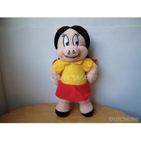Peluche Petunia 31 Cm Looney Tunes Novia De Porky Lt51