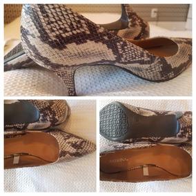 Sapato Importado Scarpin Feminino Zebra