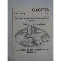 Gaceta Conalep Año 90 No.1