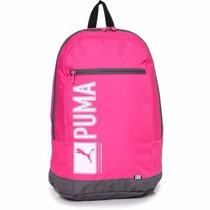 Mochila Escolar Puma Pioneer Back Pack Rosa