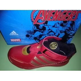 Zapatillas adidas, Iron Man, Avengers ,nuevas 34 Abrojo