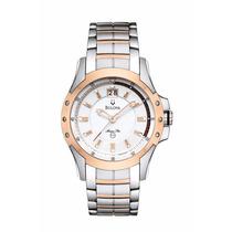 Relógio Bulova 98b129 Marine Star Two Tone Bracelet