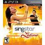 Novo Singstar Latino Original Da Sony Ps3