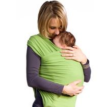 Fular-rebozo Para Bebé 3-6 Meses *con Dvd Instructivo