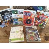 Lote De Juegos De Nintendo Wii