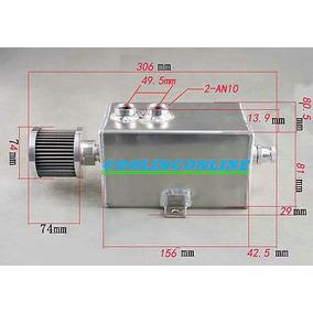 1 L Billete De Aluminio Motor Aceite Brether Captura Puede