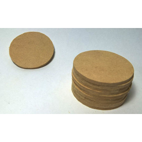 Pack 10 Circulos En Madera Para Píntar 10x10cm