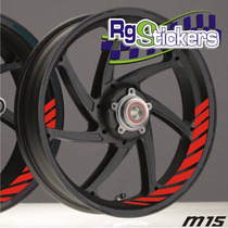 Stickers/calcomanias Para Rines Parte Interna Del Rin Moto