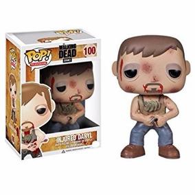 Funko Pop! Injured Daryl- The Walking Dead- Lacrado E Novo