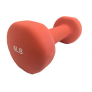 Pesas Mancuernas Unofit 1 Pza 6 Lbs (2.7kg) Neopreno Fitness