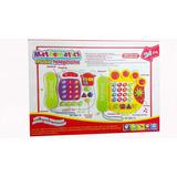 Teléfono Celular Juguete Plástico Niños Sonidos Luces 389-15