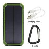 Cargador Portatil Solar 15000mah Carga Rapida Iphone S8 S7