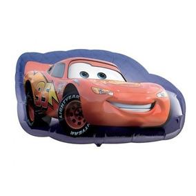 Cars Rayo Mcqueen Curz Jackson Globo Grande Helio 97cm