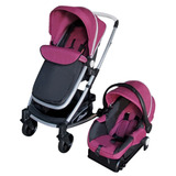 Carriola D Bebe Crown + Portabebe + Base De Carro