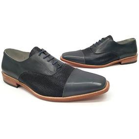 Zapatos Hombre De Diseño Elegantes Vestir Modernos En Punta