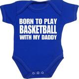 Bebé De Babyprem Llevado Jugar Al Baloncesto Con Mi Papá Nb