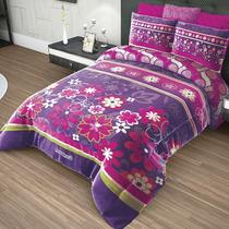 Cobertor King Size Providencia Cozumel Reverso Borrega