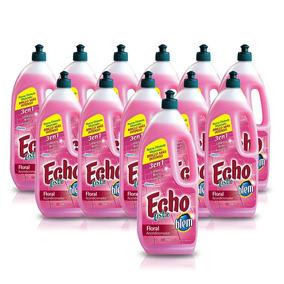 Echo Acondicionador En Balde Listo Floral 900ml,x12 Botellas