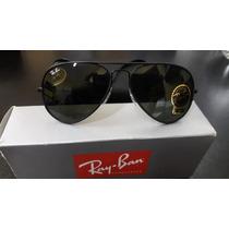 Lentes Ray Ban Rb3026 62mm Uv400 002/62 Full Black Grande