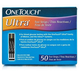 One Touch Ultra Test Strips 50 Ct Int 3 Idioma: Inglés, Espa