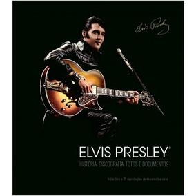 Livro Elvis Presley História, Discografia, Fotos, Documentos