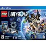 Lego Dimensions Starter Pack - Físico Ps4