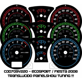 Acrilico Kit Translúcido Cod709v220 Ecosport Fiesta Ice Blue