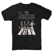 Playera The Beatles Abbey Road Snoopy Charlie Brown