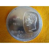 Doblon 10bs Bicentenario1873-1973 30 Grs De Plata