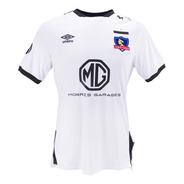 Camiseta Colo Colo Umbro 2019-20 Titular Blanca / S. Boxer