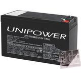 Kit C/ 05pcs Bateria 12v 7ah Unipower Up1270seg No-break Itx