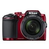 Cámara Digital Nikon Coolpix B500 (roja)