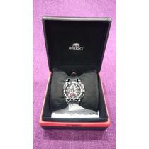 Relógio Orient Speed Tech Mbscc022-p2px Cronógrafo Semi Novo