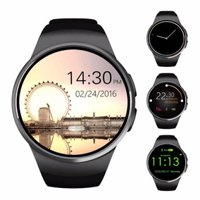 Reloj Smart Kw18 Sensor Pulso Sim Micro Sd Elegante Hd 1.3