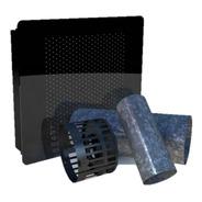 Estufa Calefactor Tiro Balanceado 4000 Kcal Frente Vidrio
