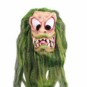 Máscara De Monstro Verde / Zumbi - Pronta Entrega
