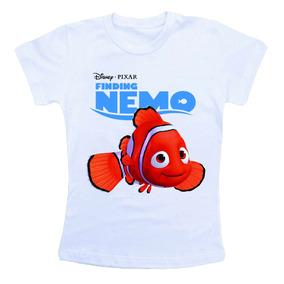 Camiseta Infantil Procurando Nemo Bn503