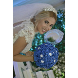 Buquê Bouquet Noiva Tendencia 2017 2018 Perolas Brochê