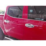 Cubre Manijas Cromadas Para Nissan Np300 4 Puertas 2016 2017