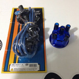 Cables Empi Con Tapa 7.5mm Azul Vocho 1960-2003 Platinos