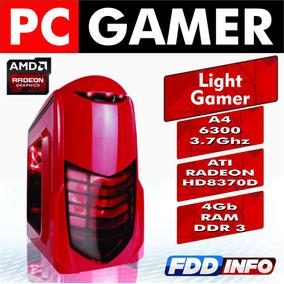 Cpu Gamer Amd A4 6300 3.9 Ghz 4gb Ati Radeon 8370d Gta V