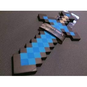 Espada Minecraft Original Azul 60cm