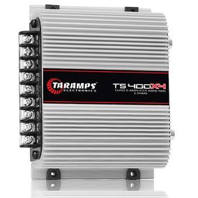 Modulo Taramps Ts 400 4 Cana Ts400 4x100w Rms Amplificador