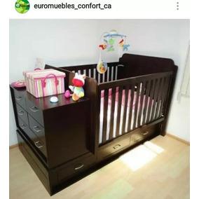 Cama Cuna Bebes Ninos Mdf