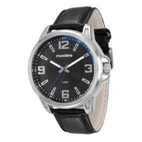 Relógio Masculino Mondaine Pulseira Em Couro 76609g0mvnh1