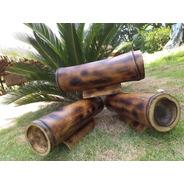 Alcancia De Bambú